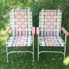 Details About Lot: 2 Vintage Aluminum Frame Woven Webbed ... Trex Outdoor Fniture Cape Cod Classic White Folding Plastic Adirondack Chair Mandaue Foam Folding Wimbledon Wedding Chair View Swii Product Details From Foshan Co Ltd On Alibacom Vintage Chairs Sandusky Seat Metal Frame Safe Set Of 4 Padded Hot Item Fan Back Whosale Ding Heavy Duty Collapsible Lawn Black Lifetime 42804 Granite Pack Www Lwjjby Portable Chairhigh Leisure China Slat Pad Resin