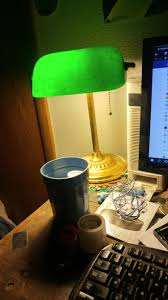 Bankers Lamp Shade Only by Every Office Had This Lamp In 1995 Nostalgia