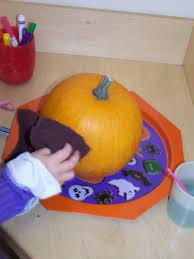 Turkey Pumpkin Push Ins by My Montessori Journey October 2008