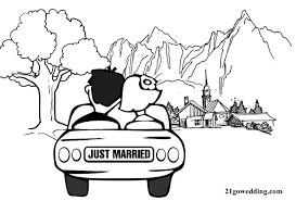 8 Wedding Coloring Book Template 21gowedding Com