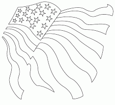 Download Free American Flag Coloring Page Or Print