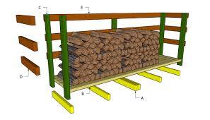 pallet firewood rack plan palletprojects pallets http