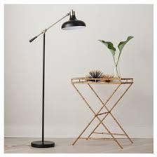 Floor Pole Lamps Target by Crosby Schoolhouse Floor Lamp Black Threshold Target