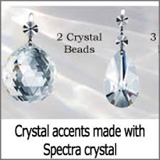 Swarovski Crystal Lamp Finials by All Crystal Accents
