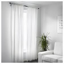vivan curtains 1 pair white 145x250 cm ikea