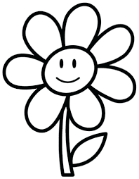 Coloring Pages Flower Adult Color Flowers Free Printable Kids To Clipart For St Patricks Day Pictures