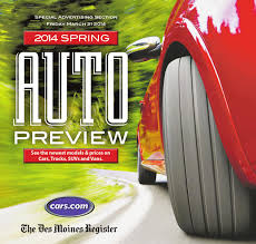 Gas Lamp Des Moines Capacity by The Des Moines Register U0026 Cars Com 2014 Spring Auto Preview By Des