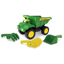 100 John Deere Toy Trucks Amazoncom TOMY 15 Big Scoop Dump Truck With Sand Tools