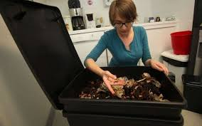 poubelle compost pour cuisine déchets mettez des vers dans votre poubelle de cuisine