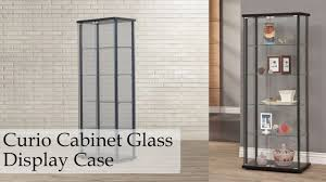 Pulaski Glass Panel Display Cabinet by Curio Cabinet Glass Display Case Furniture Showcase Storage