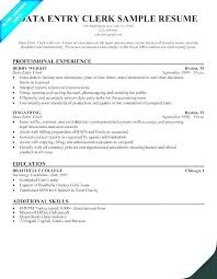 File Clerk Resume Sample Quality Control