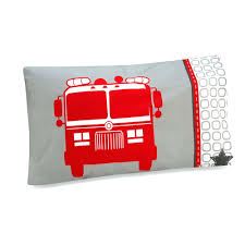 100 Truck Toddler Bedding Firefighter Comforter Set
