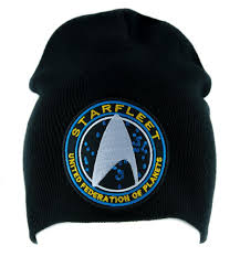 Starfleet Enterprise Star Trek Beanie Alternative Cospla Style ...