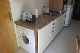 kleine ikea küche mit waschmaschine im altbau fertig mit