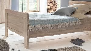 bett nadja bettgestell einzelbett schlafzimmer eiche sägerau