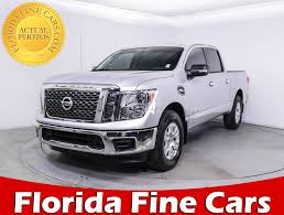 Used 2017 NISSAN TITAN Sv Crew Truck For Sale In WEST PALM, FL ...