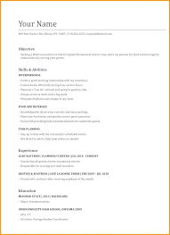 26 Download Waitress Resume Objective Examples