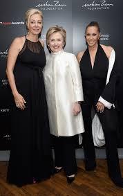 Hillary Clinton Honored at Donna Karan s Urban Zen Foundation Gala