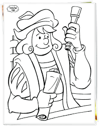 Columbus Day Printables 4th Grade Free Download Ships Coloring Pages Color Activities 3rd 2nd Full