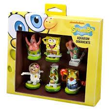 Spongebob Aquarium Decor Set by Penn Plax Sbr1a Resin Nickelodeon Spongebob Squarepants Spongebob