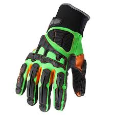 dorsal impact reducing work gloves ergodyne