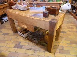 billot cuisine bois billot en bois debout bachelier antiquités