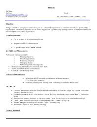 Fresher Hr Executive Resume Model 103