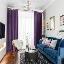 Vorhã Nge Wohnzimmer Tipps Nordic Mode Einfache Feste Farbe Samt Vorhänge Wohnzimmer Schlafzimmer Vorhänge