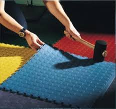 install floors quickly with lay interlocking floor tiles