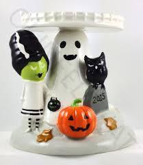 Bath And Body Works Pumpkin Apple Candle by Bath U0026 Body Works 2015 Halloween 3 Wick Candle Pedestal Ghost Owl