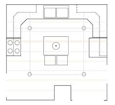 I Work With Drawing Programs At So It Was Quick For Me To Redraw My Kitchen Layout On The Computer From Sketch Included Ceiling Joists Tan