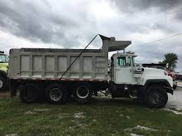 100 Tri Axle Dump Trucks 1997 Mack RD690S Truck 300HP Tarp For Sale