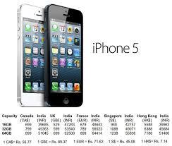 iPhone 5 Global vs India Price parison – Fone Arena