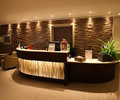 Energy Efficient LED Lighting Is A Beautiful Choice For Your Green Business Save Hotel Reception DeskSpa