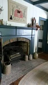 Primitive Decorating Ideas For Fireplace by 269 Best Prim U0026 Colonial Fireplaces U0026 Early Accessories Images On