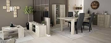 miroytengo set möbel wohnzimmer esszimmer komplett design modern vitrine tisch couchtisch tv sideboard esstisch