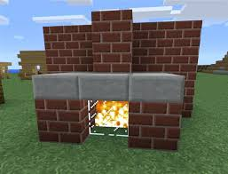 Minecraft Xbox 360 Living Room Designs by How To Make A Fireplace In Minecraft The Bottom Floor Consists Of