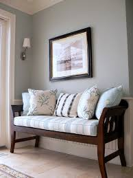 Living Room Bench by Remodelaholic Best Paint Colors For Your Home Sleepy Blue By