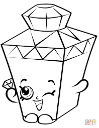 Limited Edition Shopkins Coloring Pages 1
