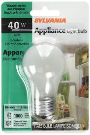 La Tee Da Lamps Ebay by Sylvania Lighting 10117 40w A15 Appliance Bulb Incandescent