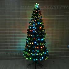 7ft Artificial Christmas Trees Ireland by Led Fibre Optic Christmas Tree Various Design Lightings Pre Lit