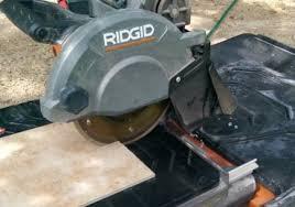 ridgid r4040s 8 tile saw review pro tool reviews