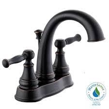 Glacier Bay Bathroom Faucets Instructions by Glacier Bay Fairway 4 In Centerset 2 Handle High Arc Bathroom