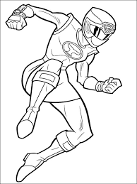 Power Ranger Coloring Pages For Girls