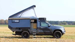 100 Pickup Truck Camper Mercedes Formed From XClass Base Outbound Living