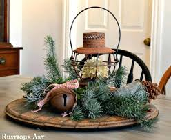 Rustic Christmas Decor Country Home Decorating Ideas Style Ornaments