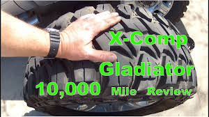 X-Comp Gladiator Tire 10,000 Mile Review - YouTube 35x1250x20 Gladiator Qr900 Mud Tire 35x1250r20 10ply E Load Ebay Amazoncom X Comp Mt Allterrain Radial 331250 Qr84 Highway Tyres 2017 Sema Xcomp Tires Black Jeep Jk Wrangler Unlimited Proline Racing 116902 Sc 2230 M3 Soft Gladiator X Comp On Instagram 12 Crazy Treads From The 2015 Show Photo Image Gallery Lifted Inferno Orange Gmc Canyon Chevy Colorado 35s 35x12 Rudolph Truck Qr55 Lettering Ice Creams Wheels And
