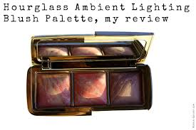 Hourglass Ambient Lighting Blush Palette my review