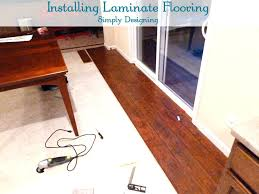 floating laminate floor installation how to install wood flooring