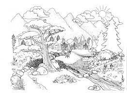 Environment Amazing Coloring Pages For Kids Printable